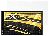 atFoliX Schutzfolie für Garmin DriveSmart 61 LMT-D Displayschutzfolie - 3 x FX-Antireflex blendfreie Folie