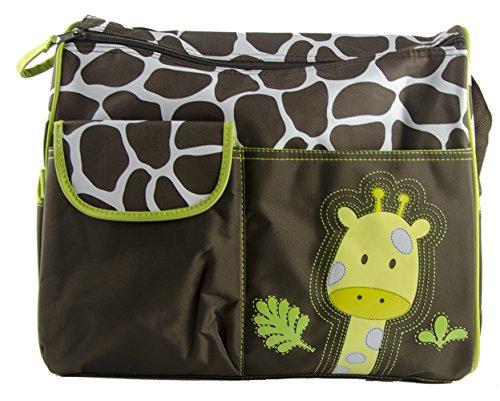 Preisvergleich Produktbild adoraland Multifunktional Mama Handtasche Baby Wickeltasche - Giraffe Muster