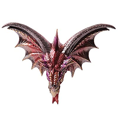 Dark Legends Dragon Head Wall Plaque