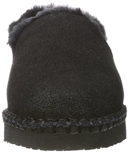 Pantofole Da Donna Ara Accoglienti Nere (nero Metallizzato)