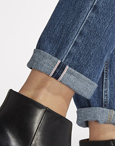 Wrangler Boyfriend Musthave Blue, Jeans Donna Blu (Musthave Blue)