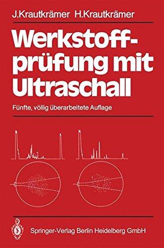 Werkstoffprüfung mit Ultraschall