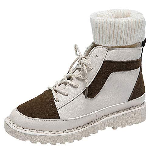 Uomogo scarpe da donna stivali tacco interna alte sneakers scarpe con zeppa strappo stealth stivaletti ginnastica sportive scarpe