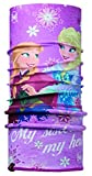 Buff Kinder Frozen Child Polar Sisters PINK/Mardi Grape Multifunktionstuch, One Size