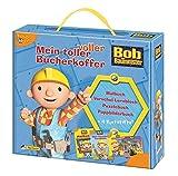 Bob der Baumeister: Mein toller voller Bücherkoffer: Malbuch, Vorschul-Lernblock, Puzzlebuch, Pappbilderbuch + 4 Buntstifte!