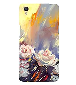 Fuson Designer Back Case Cover for Oppo A37 (Painting Artistic Colourful Beautiful Lovely)