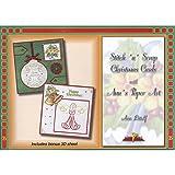 HobbyDols 35 Stitch `n` Scrap Christmas Cards