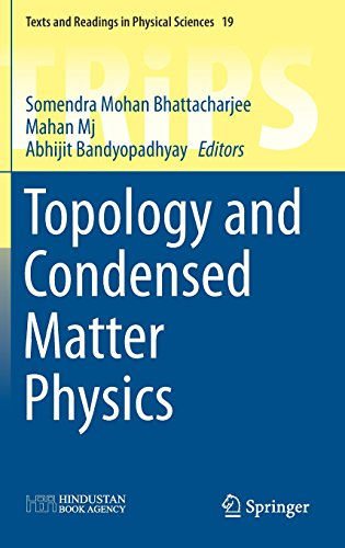 Topology and Condensed Matter Physics (Texts and Readings in Physical Sciences)
