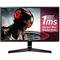 LG 24MP59G-P - Monitor gaming de 61 cm (24 pulgadas, Full HD, IPS, 1920 x 1080 pixeles, 5 ms, 1 ms con Motion Blur Reduction, 16:9, 250 cd/m2) color negro