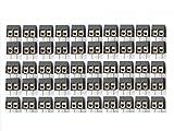 50 x Printklemmen Anschlussklemmen 2 polig anreihbar 5,08mm Art: 10154.4
