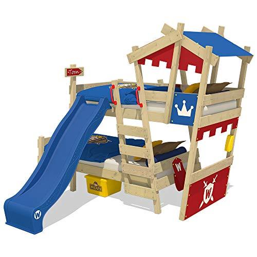 WICKEY Litera CrAzY Castle Cama infantil doble 90x200