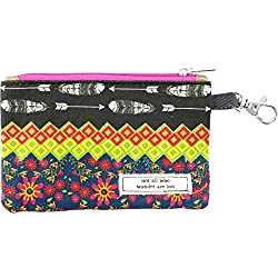 Natural Life CPRS111 Vagabond Gypsy Id Pouch Monedero, Color Negro