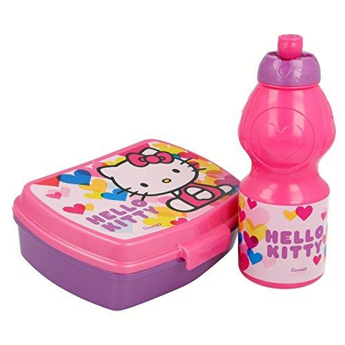 Hello Kitty–Set Trinkflasche Sport und Sandwichmaker (Stor 82276)
