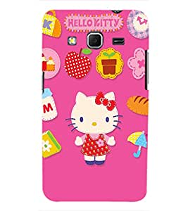 TOUCHNER (TN) Kitty Back Case Cover for Samsung Galaxy Core Prime G360