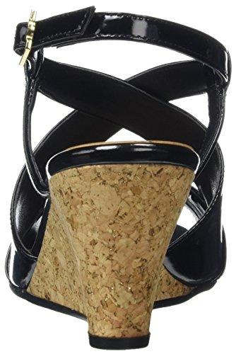 Van Dal  Allora, Sandales Bout ouvert femme Black (black Patent)