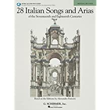 28 Italian Songs and Arias of the 17th and 18th Centuries - (Book and Online-Audio)