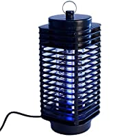 Electric Mosquito Fly Bug Insect Zapper Killer 220V LED Trap Lamp In/Outdoor Black