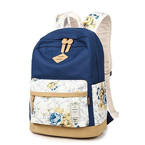 ZUNIYAMAMA , Sacs portés dos fille flower deep blue