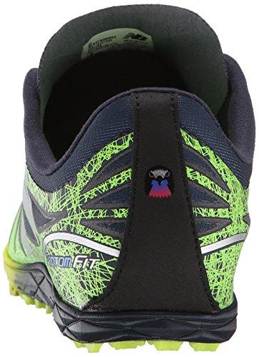 New Balance Men's MXC5000 XC Spikes Cross-Country Shoe Hi-Lite/Black