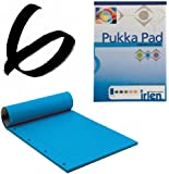 6x Turquoise Pukka Pad A4 80gsm Ruled With Margin 100 Pages 50 Sheets