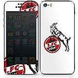 Apple iPhone 5s Case Skin Sticker aus Vinyl-Folie Aufkleber 1. FC Köln Fanartikel Fußball