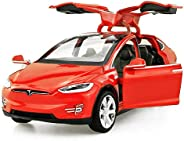 Diecast Model Cars Tesla Toy Cars Mode Toy car with Sound & L