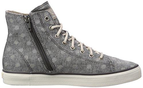 ESPRIT Sophy Damen Hohe Sneakers Schwarz (001 Black)