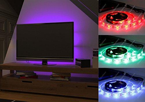 Illuminare retro tv idee per una parete in cartongesso per la tv