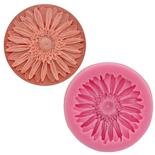 Beito Sonnenblume Jello 3D Silikon Form Seife Schokolade Fondant Candy Form Cartoon figre Kuchen Werkzeuge