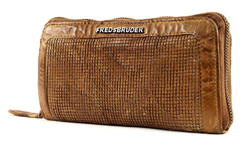 FREDsBRUDER Epic Wallet Jaya Oak Buff Marrone