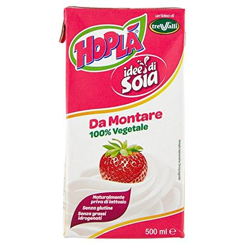 Hoplã Panna da Montare Idee di Soia - 500 ml
