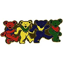 GRATEFUL DEAD GDP Inc. 4 BEARS, Officially Licensed Original Artwork - Heavy Duty Metal Sticker DECAL ETICHETTA