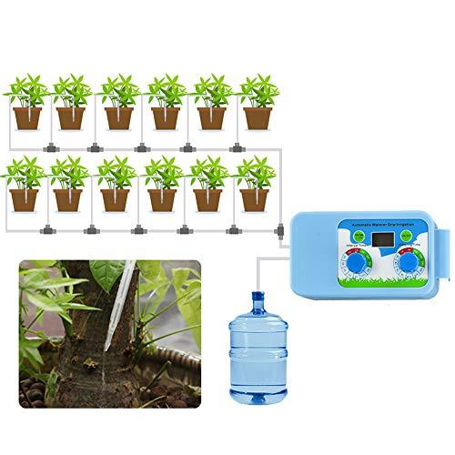 ässerung Set, Bewässerung Blumen Automatische Controller Timer Elektronische Timer Wasser Garten Home Office ()