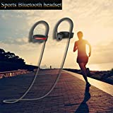Aprigy - Bass-Stereo-Headset Wasserdichten Sport Drahtlose Kopfh?rer Bluetooth-Freisprecheinrichtung Kopfh?rer mit Mikrofon Noise Cancelling