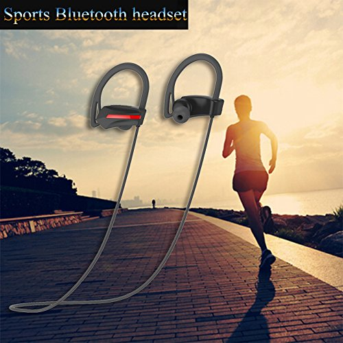aprigy Bass Stereo-Headset Wasserdicht Sport Wireless Bluetooth Kopfhörer mit Mikrofon HiFi - Jbl 6 Für Iphone Lautsprecher
