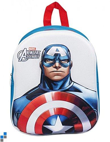 sambros cap-8114Capitán América EVA Junior Backpack