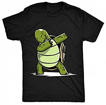 8tn dabbing turtle womens t shirt clothing for Green turtle t shirts review