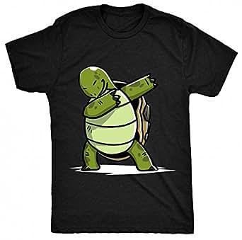 8tn Dabbing Turtle Womens T Shirt Clothing