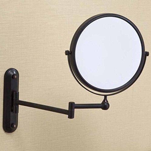 Toda La Pared De Cobre Retro Espejo De Baño Espejo De Baño Plegable