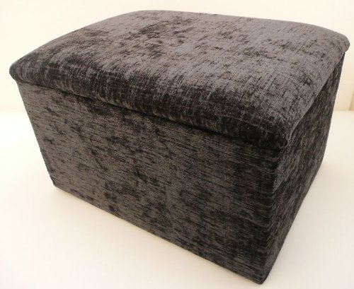 handy-size-ottoman-footstool-storage-box-with-hinged-upholstered-lid-in-grey-chenille