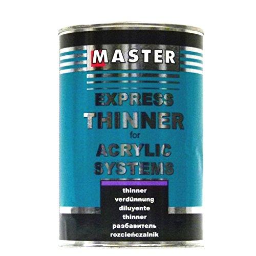 Preisvergleich Produktbild Troton Master Express Universal Verdünnung HS New Formula für Acryl-Erzeugnisse 1L Thinner mittel beste Qualität