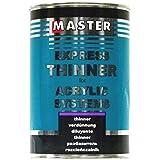 troton Master Express Diluant HS New Formula pour produits de 1L Thinner alimentaires meilleure qualité acrylique