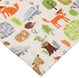 CRS Fur Fabrics Double Face Supersoft Cuddlesoft Tissu Polaire Matériau Woodland Animaux Ivoire
