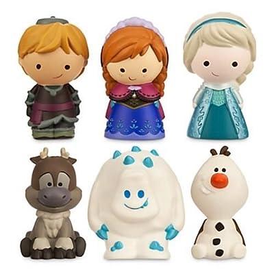 Disney Store US Frozen Bath Toys Elsa Anna Kristoff Marshmallow Olaf Sven by Disney por Disney store