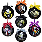 Tim Burton The Nightmare Before Christmas Ornament set – -7-pc. Set 2011 Disney item No. 6434046651953P