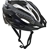 Trespass, Casco ciclismo Unisex adulto, Nero (schwarz - schwarz), L/XL (58-62cm)