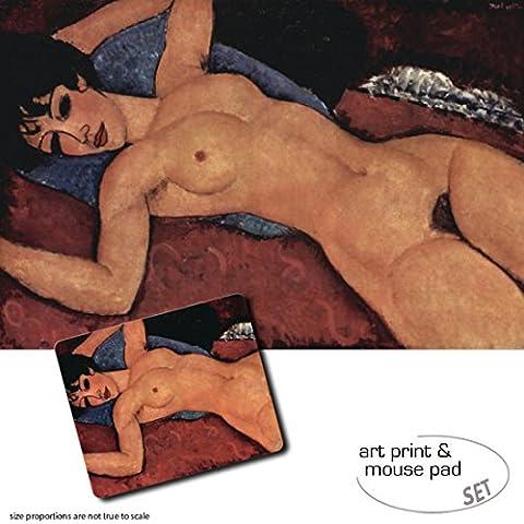 Set Regalo: 1 Stampa D'Arte (120x80 cm) + 1 Tappetino