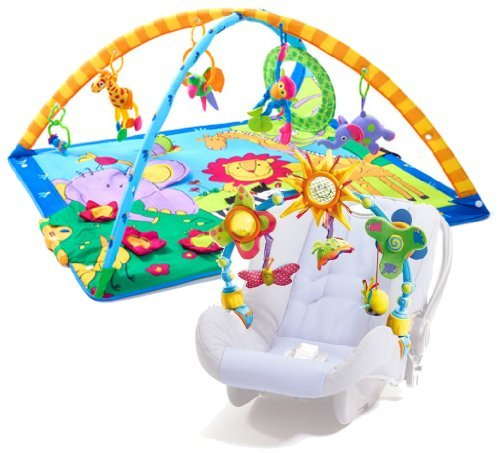 Tiny Love Super Deluxe Lights and Music Gymini Activity Gym with Take-A-Long Arch by Tiny Love (Love Tiny Gym)