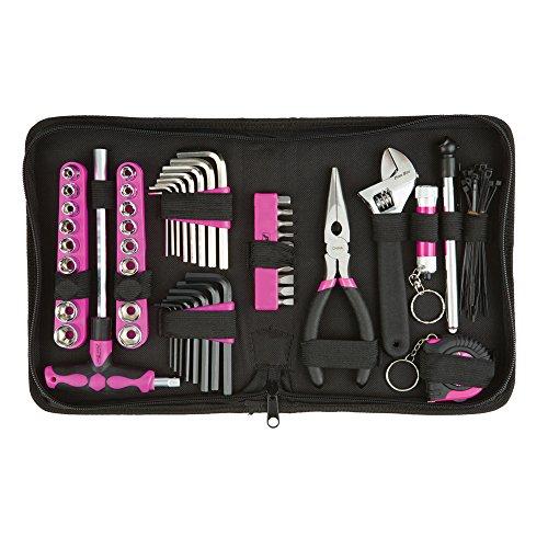 PB85TK-Werkzeug-Set mit Etui, pink, 85Stück, PB85TK