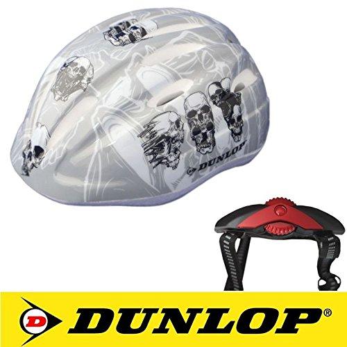 Kinder Fahrradhelm Dunlop für Radfahrer, Skater, Eisläufer und Skateboarder, entspricht DIN EN 1078, lieferbar in verschiedenen Designs, Biene / Flammen /...